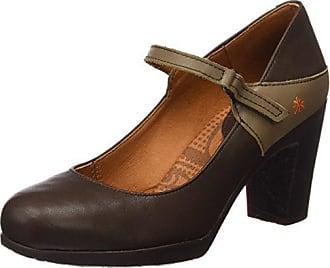 Zapatos marrones de punta abierta formales JOE BROWNS para mujer