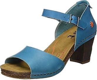 ART Donna 0145 Mojave incontro Sandali Con Cinturino alla Caviglia Blu ALBUFERA 6 UK