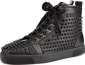 Schwarze High Top Sneakers Männer schnüren Sich Oben Stiefeletten EU44 The Cuckoos Nest