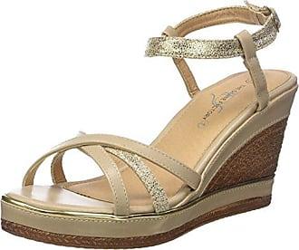 JLH617 - Sandalias de vestir para mujer, color Beige, talla 39 Goodyear
