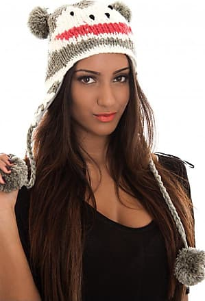Nude Wool Bobble Hat The Fashion Bible