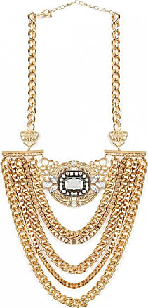 Gold Embellished Statement Necklace The Fashion Bible
