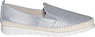 Kamerad Smart Womens Metallischen Loafer 6 Silver The Flexx