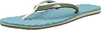 The North Face W Base Camp Mini, Zapatos de Playa y Piscina para Mujer, Azul (Bristol Blue/Vintage White 4Fe), 36 EU