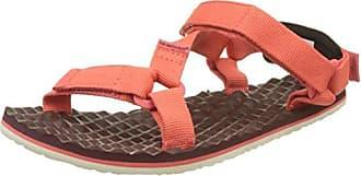 The North Face Base Camp Mini Rot-Schwarz, Damen Sandale, Größe EU 40 - Farbe Sunbaked Red-Evening Sand Pink Damen Sandale, Sunbaked Red - Evening Sand Pink, Größe 40 - Rot-Schwarz