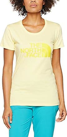 The North Face Easy, Camiseta para Mujer, Rojo (Cayenne Red), X-Small (Tamaño del fabricante:XS)