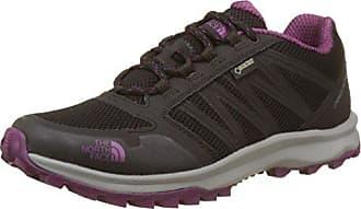 W Litewave Fp GTX, Zapatillas de Senderismo para Mujer, Negro (TNF Black/High Rise Grey C4V), 37.5 EU The North Face