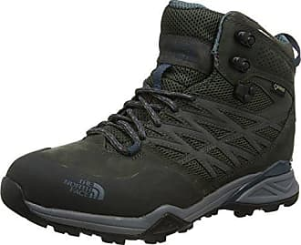 The North Face Hedgehog Fastpack Lite II GTX, Chaussures de Randonnée Basses Homme, Multicolore (Griffin Grey/TNF Red), 48 EU