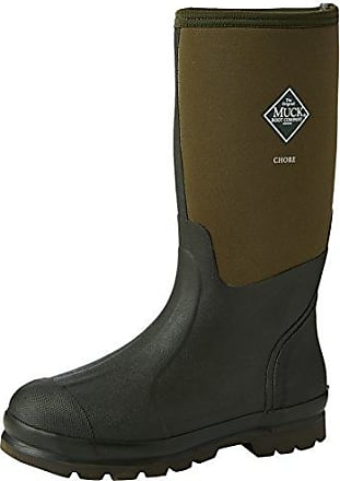 Chore Steel Toe, Stivali di Sicurezza in Gomma Unisex Adulti, Black (Black 000A), 47 EU The Original Muck Boot Company