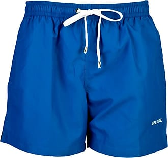 Blue Star Print Fast-Dry Polyester Swimming Shorts BELSIRE MILANO