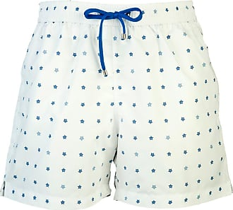 Marine Blue Fast-Dry Polyester Swimming Shorts BELSIRE MILANO
