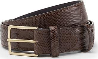 Leather belt Dundas powder Tigha