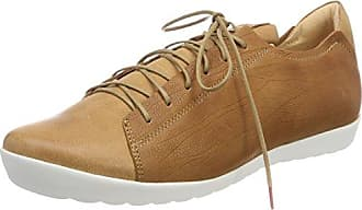 Think Anni_282050, Zapatos de Cordones Brogue para Mujer, Beige (Macchiato/Kombi 25), 40.5 EU