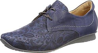 Think Shua_282035, Zapatos de Cordones Brogue para Mujer, Dorado (Sand 43), 41 EU