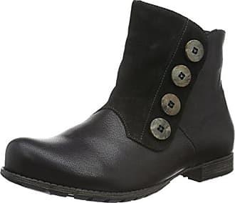Think Liab, Zapatillas de Estar por Casa para Mujer, Negro (SZ/Kombi 09), 38 EU
