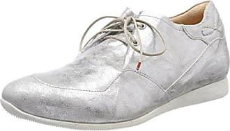 Think Raning_282095, Zapatos de Cordones Brogue para Mujer, Plateado (Silber 04), 42 EU
