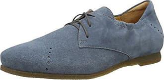 Think Raning_282098, Zapatos de Cordones Brogue para Mujer, Negro (Sz/Kombi 09), 36 EU
