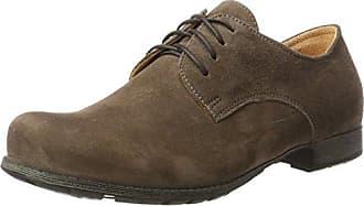 Think Raning_282094, Zapatos de Cordones Brogue para Mujer, Beige (Macchiato 24), 42 EU