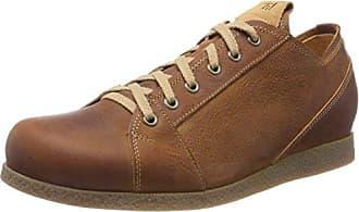 Think Chilli_282102, Zapatos de Cordones Brogue para Mujer, Azul (Jeans/Kombi 84), 41 EU