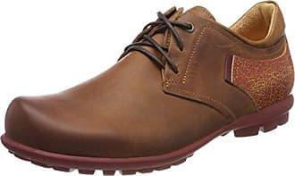 Think Anni_282050, Zapatos de Cordones Brogue para Mujer, Marrón (Rum/Kombi 54), 42.5 EU