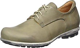 Think Guru 83690 - Zapatos de cuero para hombre, color negro, talla 45.5 EU (11 Herren UK)