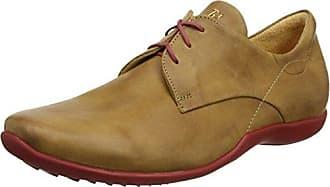 Think Stone_282613, Zapatos de Cordones Brogue para Hombre, Gris (Stahl/Kombi 19), 40 EU