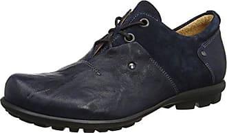 Think Kong_282651, Zapatos de Cordones Brogue para Hombre, Azul (Capri/Kombi 90), 40 EU