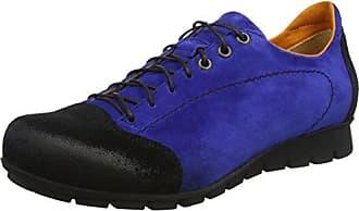 Shua, Scarpe Stringate Donna, Blu (Blau/Kombi 94), 41.5 EU Think
