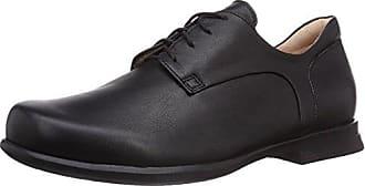 Think Kong - Zapatos de cordones para hombre, color negro, talla 47.5