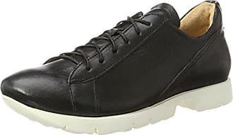 Think Raning_282095, Zapatos de Cordones Brogue para Mujer, Negro (Schwarz 00), 40 EU