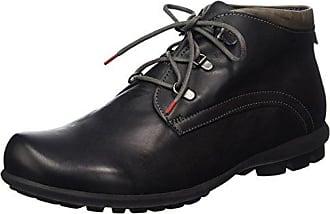 Mens Kong Desert Boots, Black Think