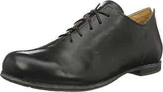 Think Pensa - Zapatos de cordones para mujer, Negro, 38.5