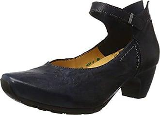 Womens Nola Court Shoes Gray Grau (ANTRAZIT-14) Size: 41 EU (7.5 Damen UK) Think