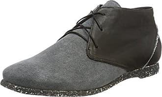 Think Damen Shua_282025 Desert Boots, Schwarz (Sz/Kombi 09), 40 EU
