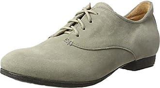 Think Raning_282095, Zapatos de Cordones Brogue para Mujer, Plateado (Silber 04), 37 EU