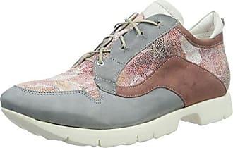 Think Shua_282035, Zapatos de Cordones Brogue para Mujer, Beige (Puder 34), 36 EU