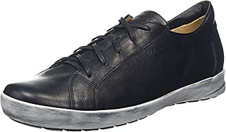 Think Pensa 83671 - Zapatos de cuero para hombre, color negro, talla 40 EU (6.5 Herren UK), Negro, 43.5
