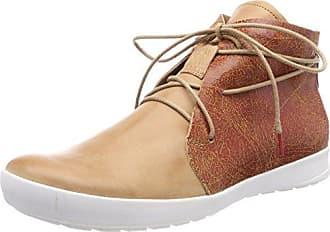 Think Grodso_282632, Zapatos de Cordones Brogue para Hombre, Marrón (Lion/Kombi 55), 41 EU