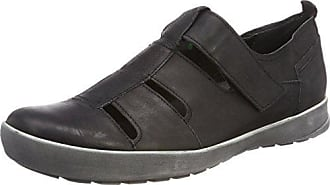 Mens Zagg_282606 Loafers, Black (Sz/Kombi 09) Think