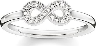 Thomas Sabo ring white D_TR0005-725-14-48 Thomas Sabo