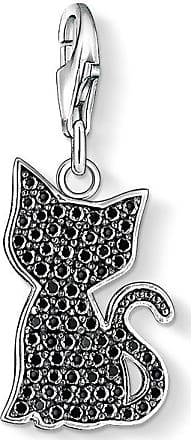 Thomas Sabo Charm pendant black cat black 1015-051-11 Thomas Sabo
