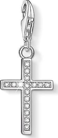 Thomas Sabo Charm pendant Iconic ornamental cross red 1495-392-10 Thomas Sabo