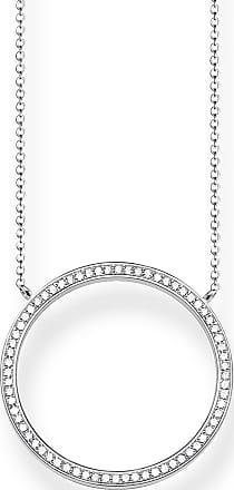 Thomas Sabo Women Silver Pendant Necklace - KE1650-051-14-L45v
