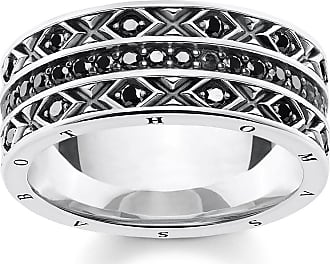 Thomas Sabo ring black TR2100-643-11-48 Thomas Sabo