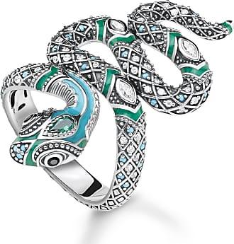 Thomas Sabo ring turquoise TR2181-845-17-48 Thomas Sabo