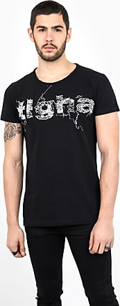 Print T-Shirt Not afraid WSN red Tigha