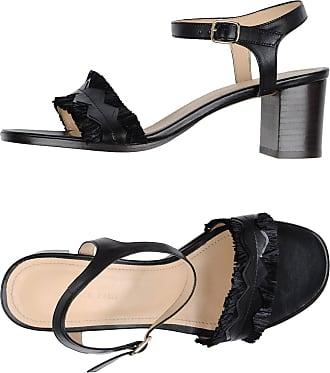 Sandales hautes à plateforme en cuirTila March