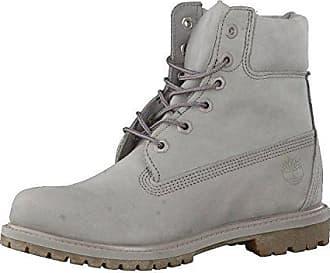 Timberland 6 In Premium Vaporous Nubuck, Schuhe, Stiefel & Boots, Stiefel, Grau, Female, 36