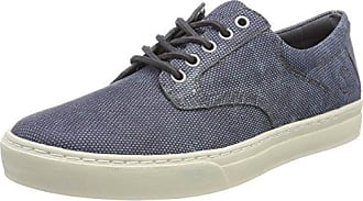 Timberland Lufkin Jogger, Zapatos de Cordones Oxford para Hombre, Gris (Forged Iron Suede C64), 44 EU