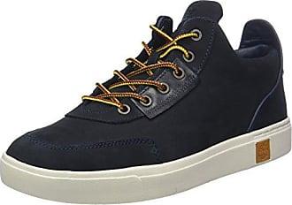 Dauset Leather and Fabric, Bottes Chukka Homme, Marron (Wheat), 14.5 UKTimberland